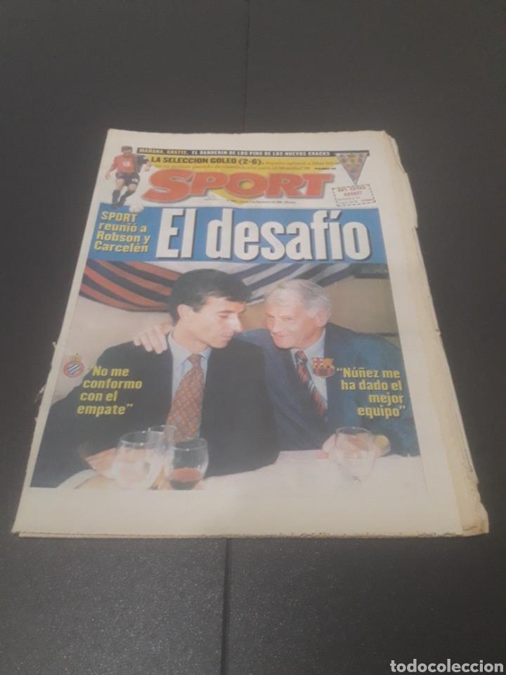 SPORT N° 6051. 5 DE SEPTIEMBRE 1996. (Coleccionismo Deportivo - Revistas y Periódicos - Sport)