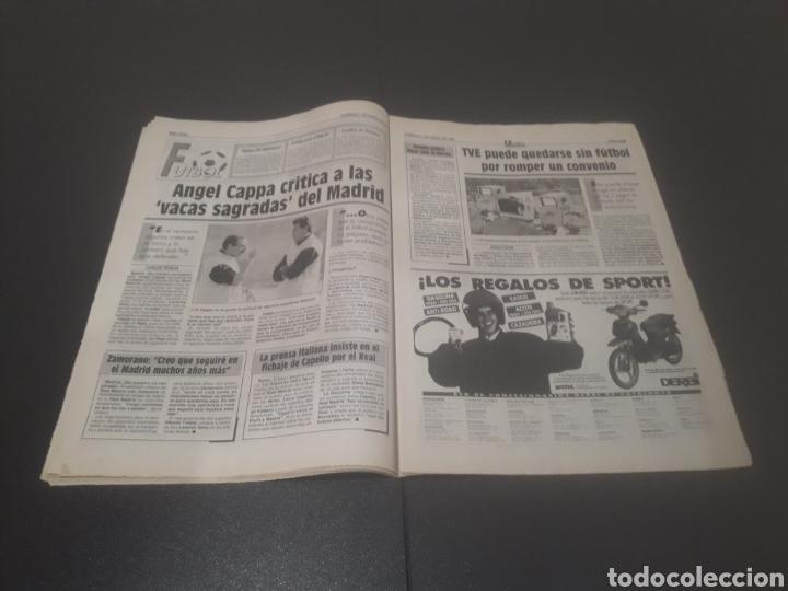 Coleccionismo deportivo: SPORT N° 5810. 7 DE ENERO 1996. - Foto 17 - 255944685