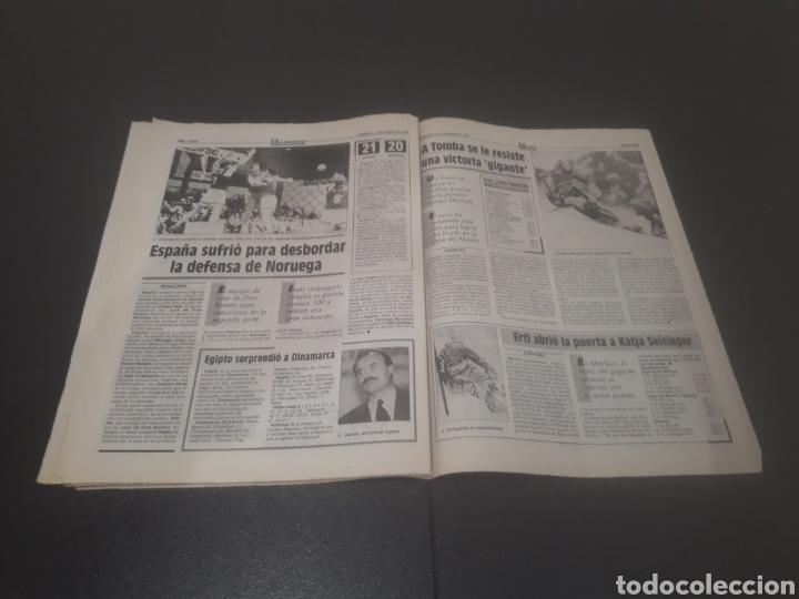Coleccionismo deportivo: SPORT N° 5810. 7 DE ENERO 1996. - Foto 25 - 255944685