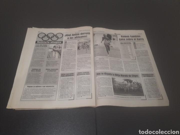 Coleccionismo deportivo: SPORT N° 5810. 7 DE ENERO 1996. - Foto 26 - 255944685