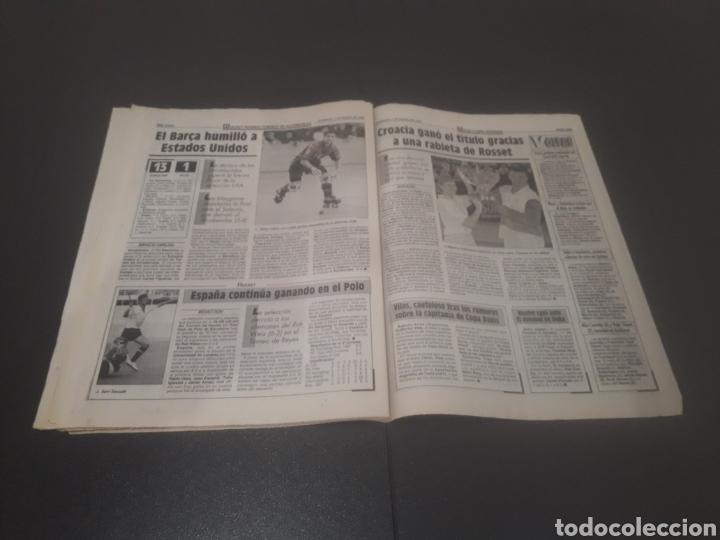 Coleccionismo deportivo: SPORT N° 5810. 7 DE ENERO 1996. - Foto 27 - 255944685