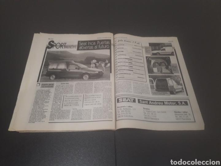 Coleccionismo deportivo: SPORT N° 5810. 7 DE ENERO 1996. - Foto 29 - 255944685