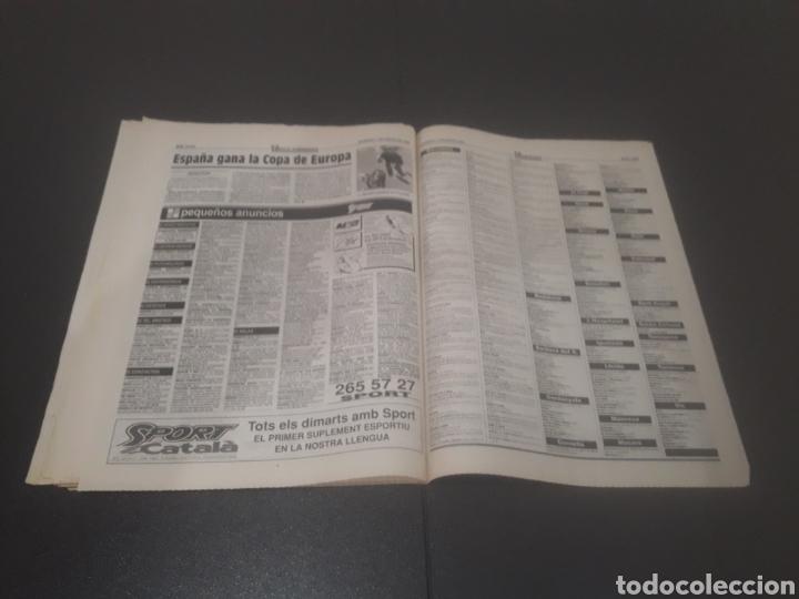Coleccionismo deportivo: SPORT N° 5810. 7 DE ENERO 1996. - Foto 34 - 255944685