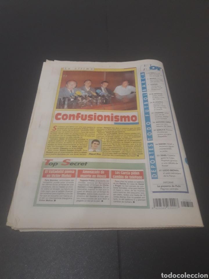Coleccionismo deportivo: SPORT N° 5810. 7 DE ENERO 1996. - Foto 37 - 255944685