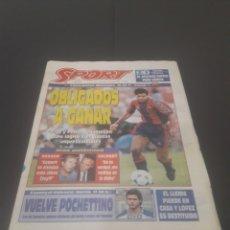Coleccionismo deportivo: SPORT N° 5810. 7 DE ENERO 1996.. Lote 255944685