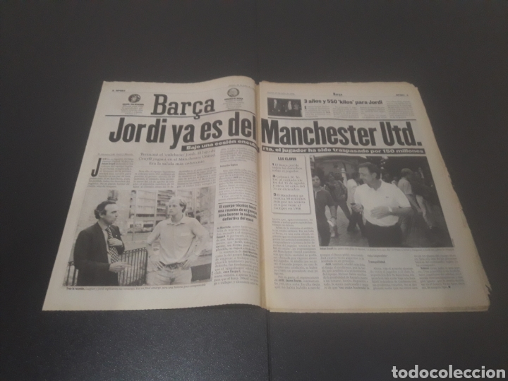 Coleccionismo deportivo: SPORT N° 6009. 25 DE JULIO 1996. - Foto 2 - 255946310