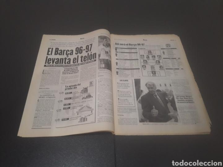 Coleccionismo deportivo: SPORT N° 6009. 25 DE JULIO 1996. - Foto 5 - 255946310