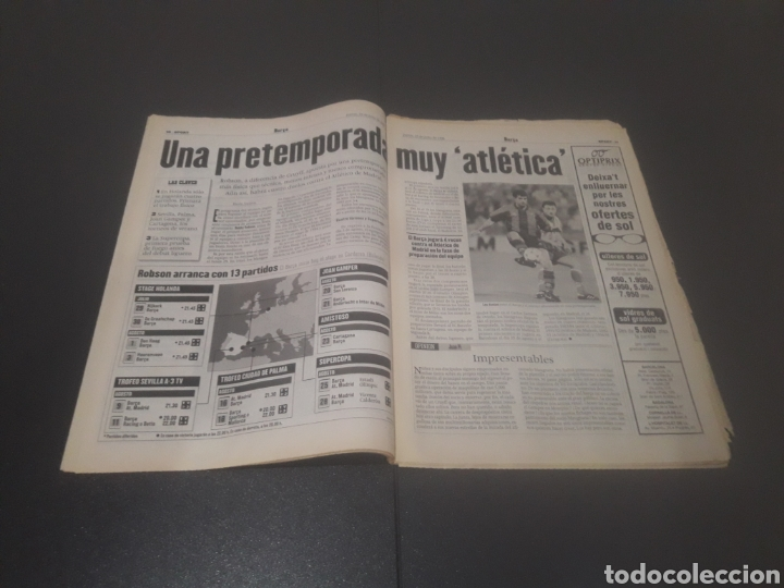 Coleccionismo deportivo: SPORT N° 6009. 25 DE JULIO 1996. - Foto 6 - 255946310