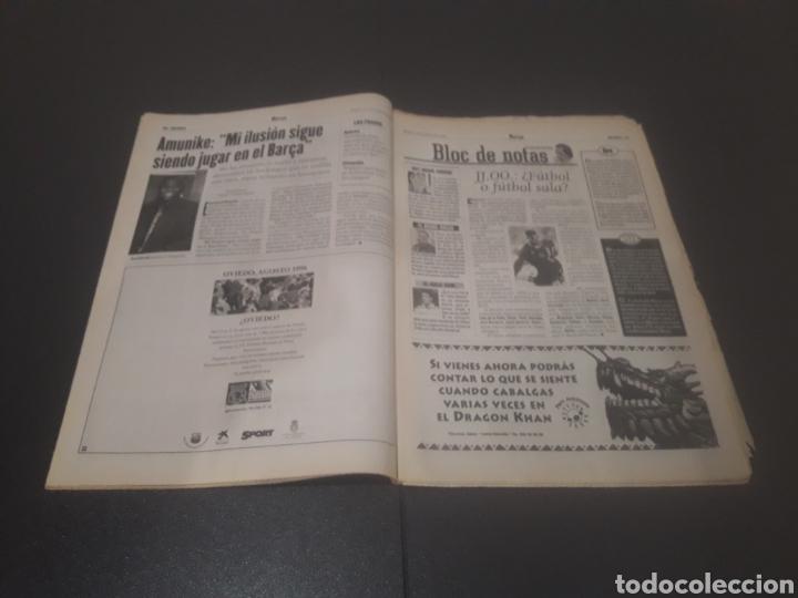 Coleccionismo deportivo: SPORT N° 6009. 25 DE JULIO 1996. - Foto 9 - 255946310
