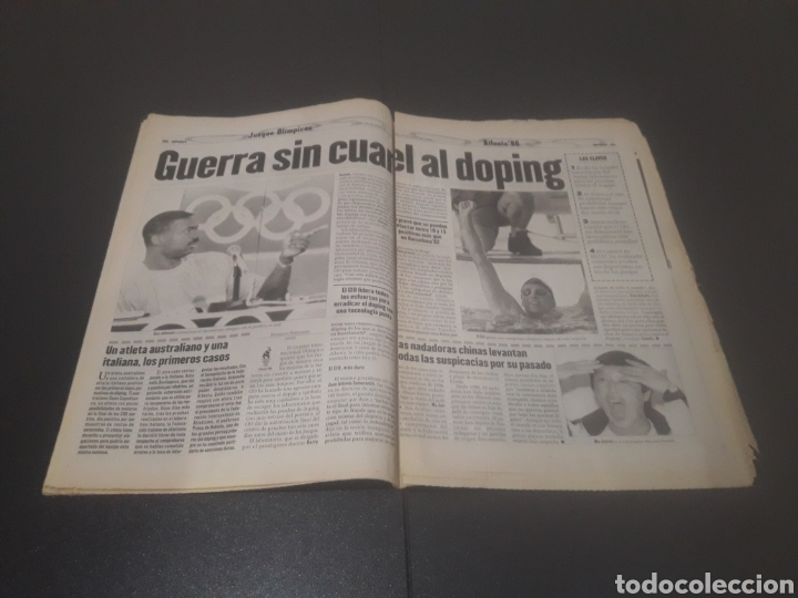 Coleccionismo deportivo: SPORT N° 6009. 25 DE JULIO 1996. - Foto 16 - 255946310