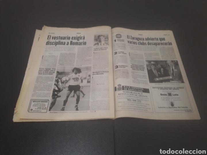 Coleccionismo deportivo: SPORT N° 6009. 25 DE JULIO 1996. - Foto 27 - 255946310