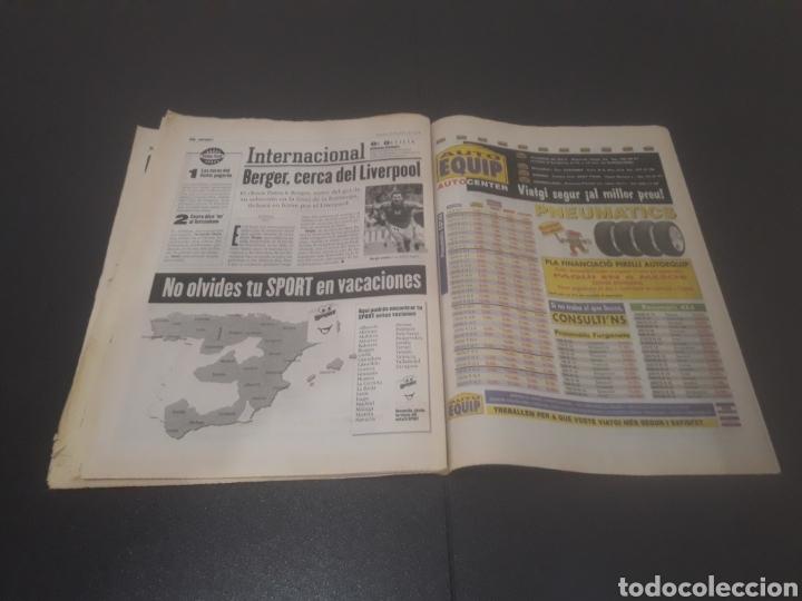 Coleccionismo deportivo: SPORT N° 6009. 25 DE JULIO 1996. - Foto 30 - 255946310