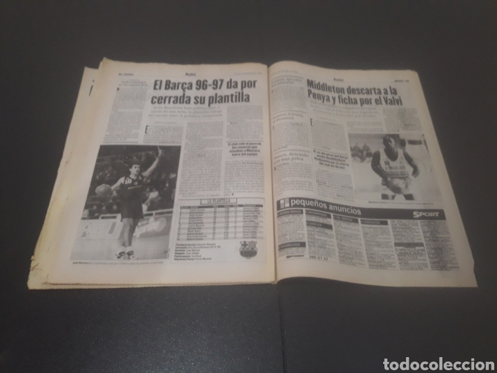 Coleccionismo deportivo: SPORT N° 6009. 25 DE JULIO 1996. - Foto 33 - 255946310