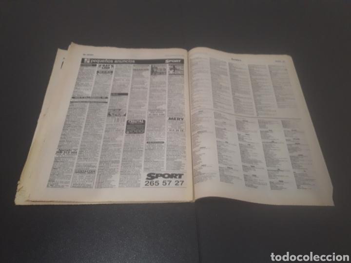 Coleccionismo deportivo: SPORT N° 6009. 25 DE JULIO 1996. - Foto 34 - 255946310