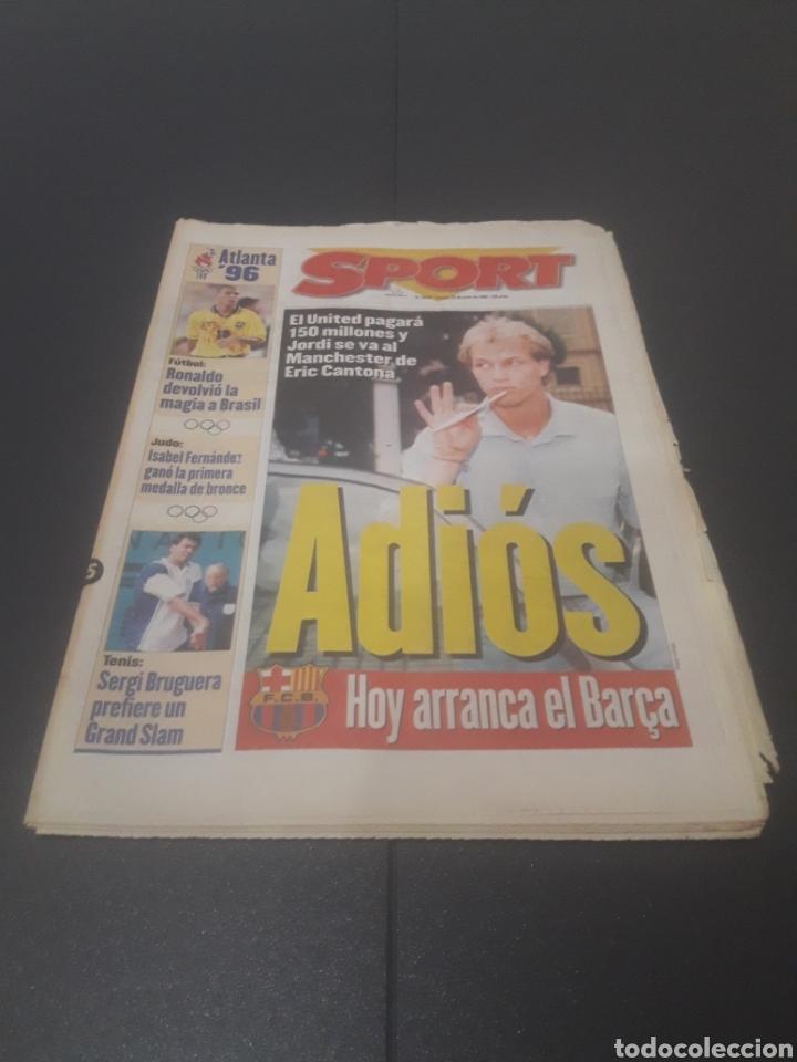 SPORT N° 6009. 25 DE JULIO 1996. (Coleccionismo Deportivo - Revistas y Periódicos - Sport)