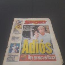 Coleccionismo deportivo: SPORT N° 6009. 25 DE JULIO 1996.. Lote 255946310
