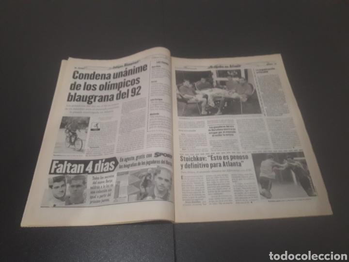 Coleccionismo deportivo: SPORT N° 6012. 28 DE JULIO 1996. - Foto 10 - 255950325