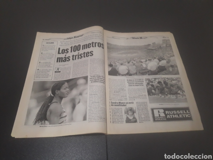 Coleccionismo deportivo: SPORT N° 6012. 28 DE JULIO 1996. - Foto 11 - 255950325