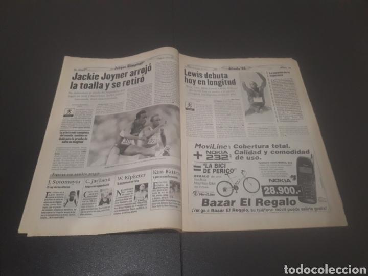 Coleccionismo deportivo: SPORT N° 6012. 28 DE JULIO 1996. - Foto 12 - 255950325