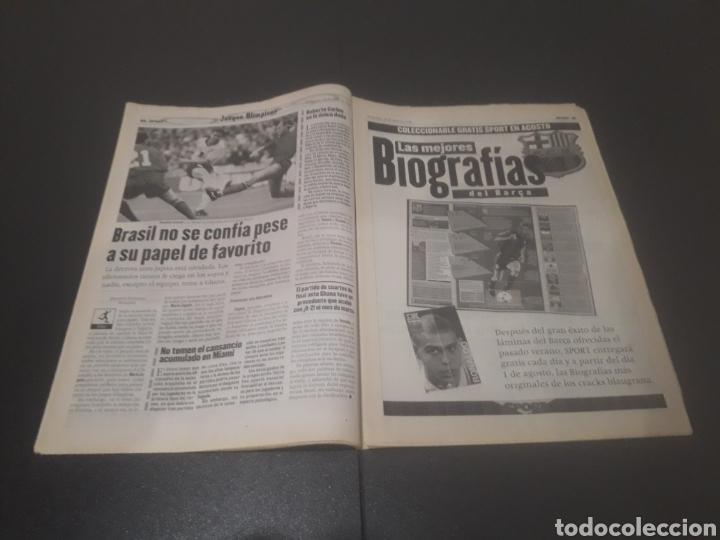 Coleccionismo deportivo: SPORT N° 6012. 28 DE JULIO 1996. - Foto 14 - 255950325