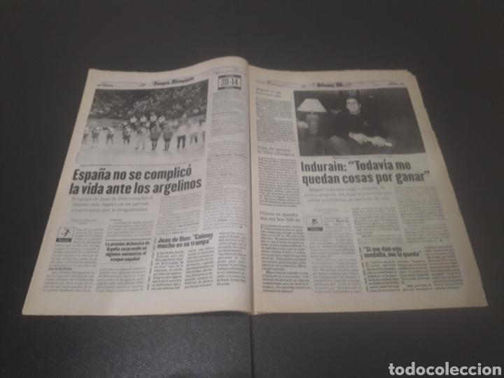 Coleccionismo deportivo: SPORT N° 6012. 28 DE JULIO 1996. - Foto 17 - 255950325