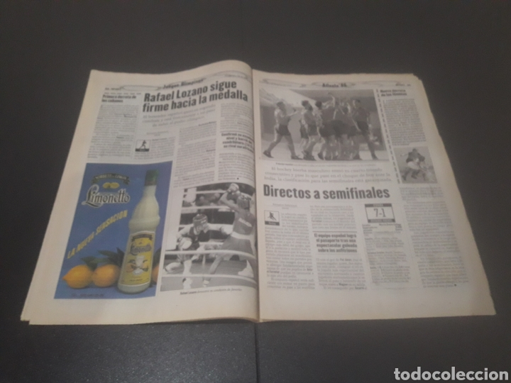 Coleccionismo deportivo: SPORT N° 6012. 28 DE JULIO 1996. - Foto 18 - 255950325