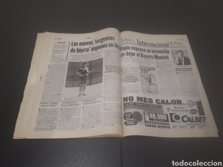 Coleccionismo deportivo: SPORT N° 6012. 28 DE JULIO 1996. - Foto 33 - 255950325