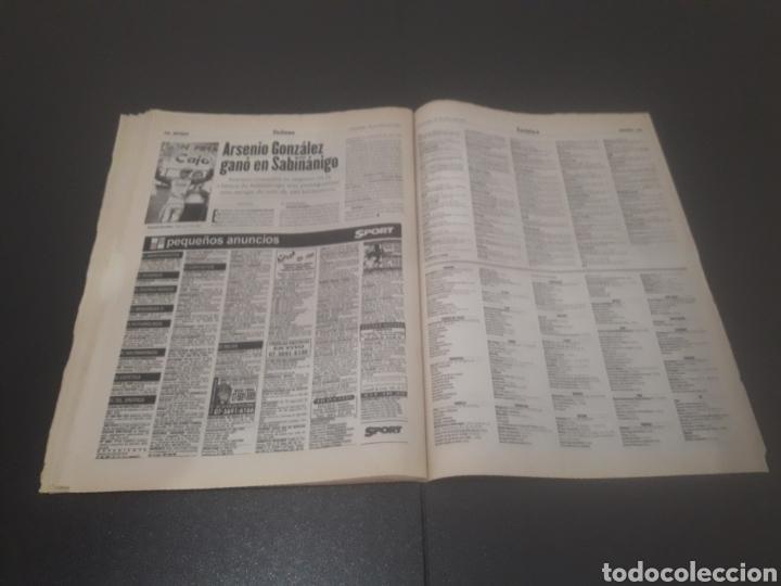 Coleccionismo deportivo: SPORT N° 6012. 28 DE JULIO 1996. - Foto 38 - 255950325