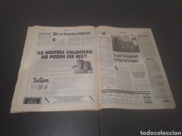 Coleccionismo deportivo: SPORT N° 6012. 28 DE JULIO 1996. - Foto 40 - 255950325