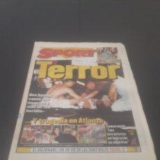 Coleccionismo deportivo: SPORT N° 6012. 28 DE JULIO 1996.. Lote 255950325