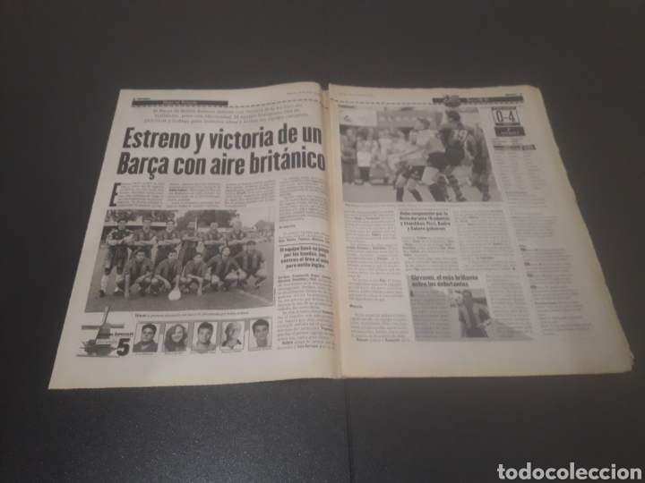 Coleccionismo deportivo: SPORT N° 6014. 30 DE JULIO 1996. - Foto 2 - 255952105