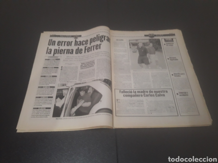 Coleccionismo deportivo: SPORT N° 6014. 30 DE JULIO 1996. - Foto 4 - 255952105
