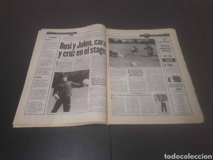 Coleccionismo deportivo: SPORT N° 6014. 30 DE JULIO 1996. - Foto 5 - 255952105