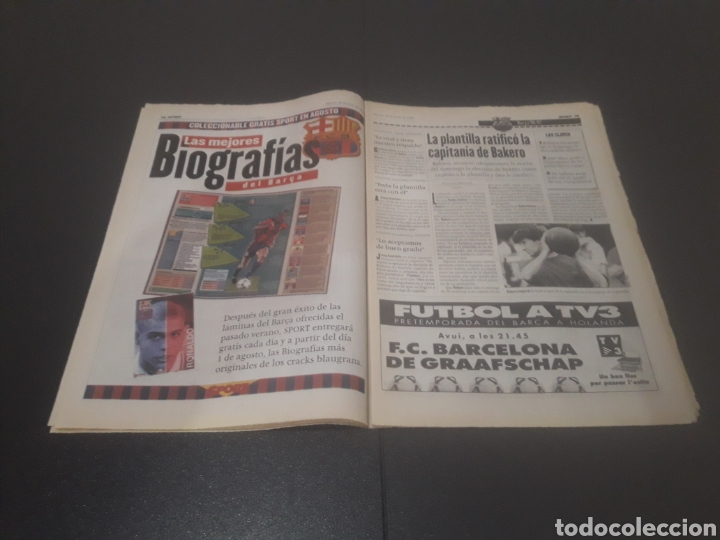 Coleccionismo deportivo: SPORT N° 6014. 30 DE JULIO 1996. - Foto 8 - 255952105