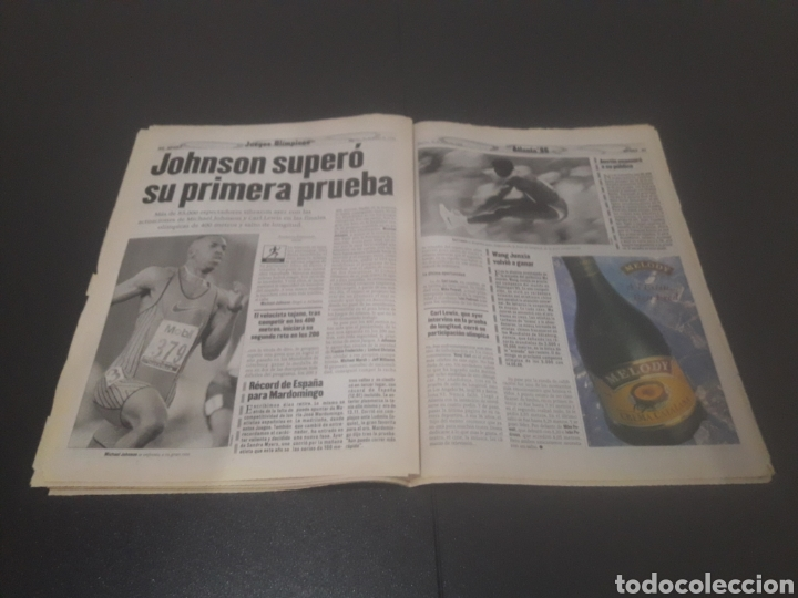 Coleccionismo deportivo: SPORT N° 6014. 30 DE JULIO 1996. - Foto 21 - 255952105