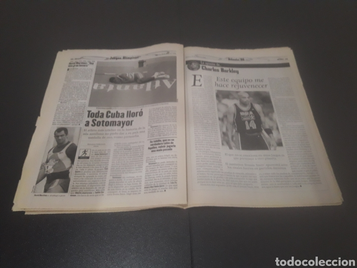 Coleccionismo deportivo: SPORT N° 6014. 30 DE JULIO 1996. - Foto 22 - 255952105