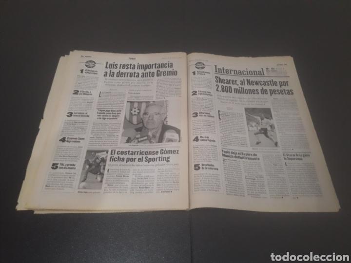 Coleccionismo deportivo: SPORT N° 6014. 30 DE JULIO 1996. - Foto 30 - 255952105
