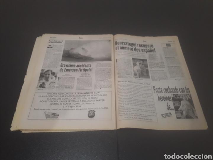 Coleccionismo deportivo: SPORT N° 6014. 30 DE JULIO 1996. - Foto 32 - 255952105