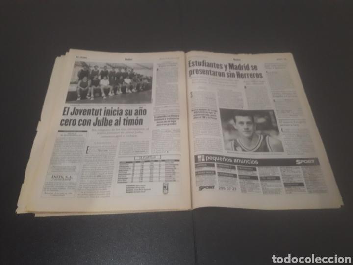 Coleccionismo deportivo: SPORT N° 6014. 30 DE JULIO 1996. - Foto 33 - 255952105