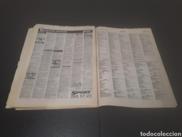 Coleccionismo deportivo: SPORT N° 6014. 30 DE JULIO 1996. - Foto 34 - 255952105