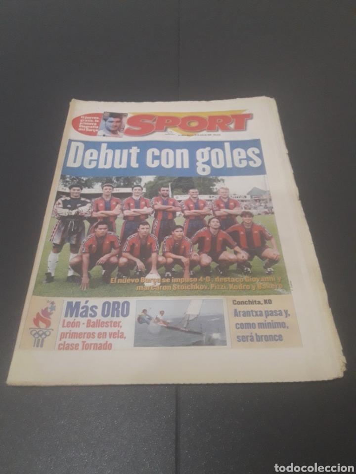 SPORT N° 6014. 30 DE JULIO 1996. (Coleccionismo Deportivo - Revistas y Periódicos - Sport)