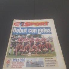 Coleccionismo deportivo: SPORT N° 6014. 30 DE JULIO 1996.. Lote 255952105