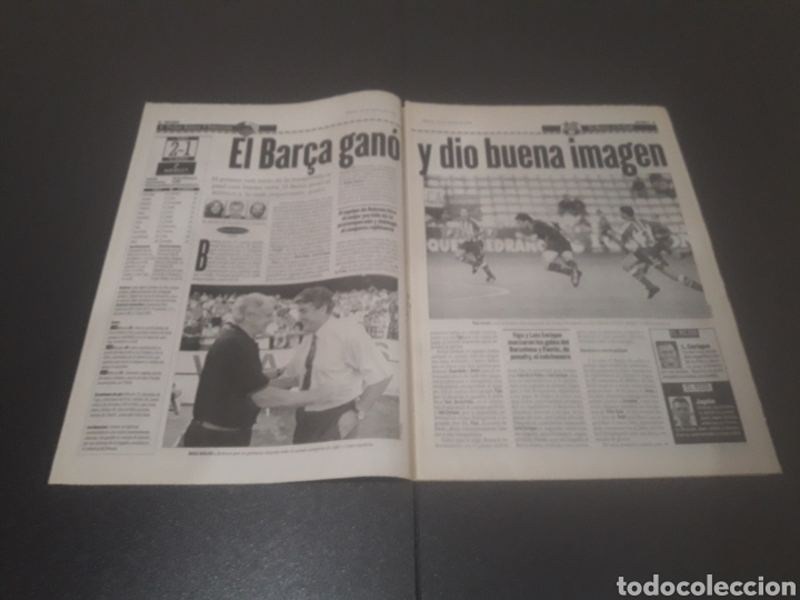 Coleccionismo deportivo: SPORT N° 6025. 10 DE AGOSTO 1996. - Foto 2 - 255954310