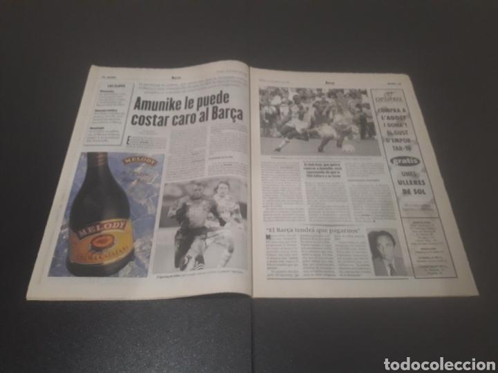 Coleccionismo deportivo: SPORT N° 6025. 10 DE AGOSTO 1996. - Foto 8 - 255954310