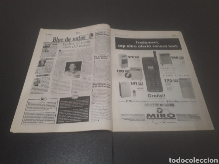 Coleccionismo deportivo: SPORT N° 6025. 10 DE AGOSTO 1996. - Foto 10 - 255954310