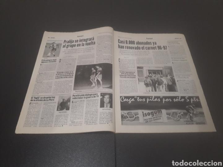 Coleccionismo deportivo: SPORT N° 6025. 10 DE AGOSTO 1996. - Foto 12 - 255954310
