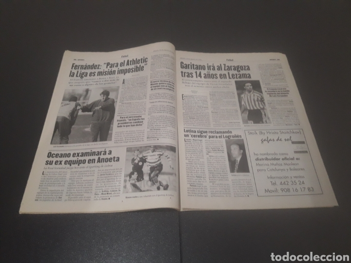 Coleccionismo deportivo: SPORT N° 6025. 10 DE AGOSTO 1996. - Foto 15 - 255954310