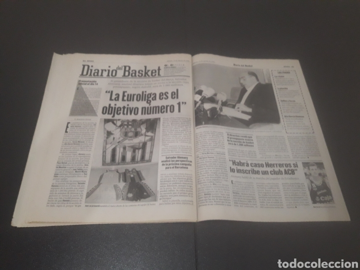 Coleccionismo deportivo: SPORT N° 6025. 10 DE AGOSTO 1996. - Foto 28 - 255954310