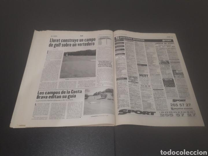 Coleccionismo deportivo: SPORT N° 6025. 10 DE AGOSTO 1996. - Foto 30 - 255954310