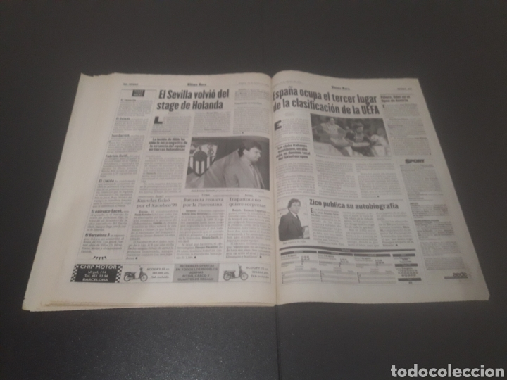 Coleccionismo deportivo: SPORT N° 6025. 10 DE AGOSTO 1996. - Foto 32 - 255954310